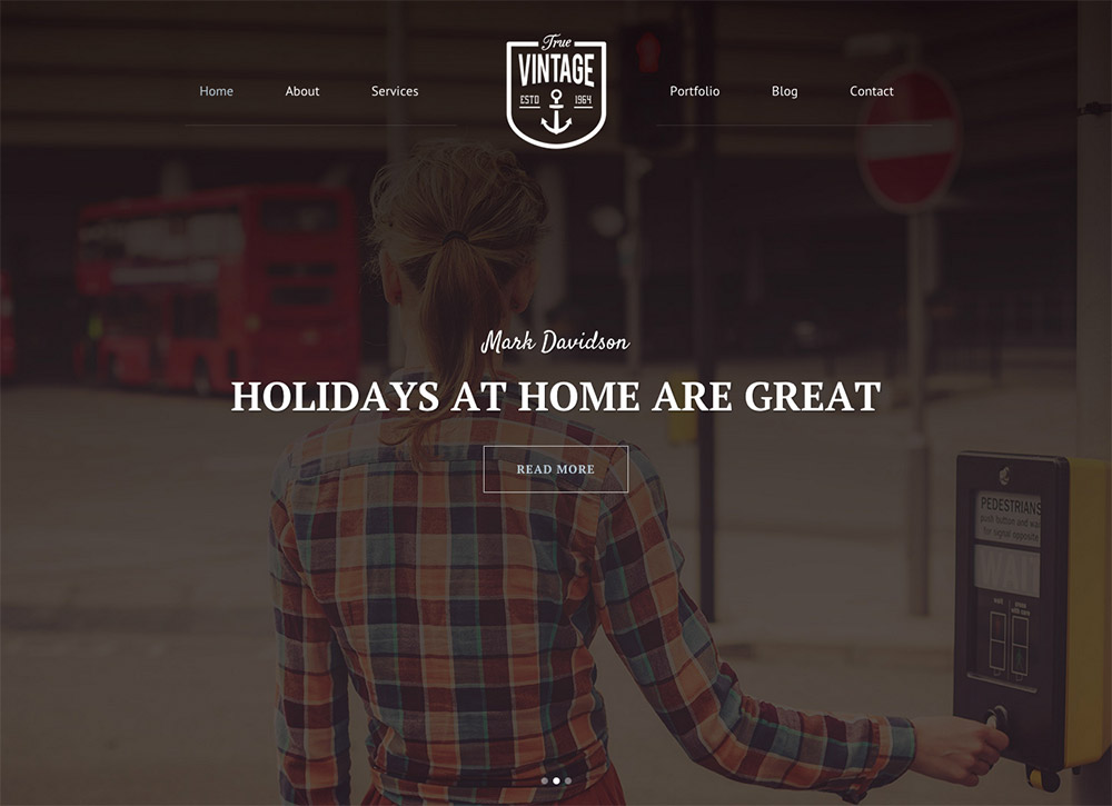 Vntage Shop Web Design
